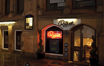 Rajdoot Indian Restaurant Manchester - outside view